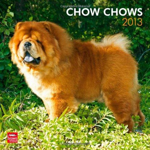 Chow Chows 2013 - Original BrownTrout-Kalender