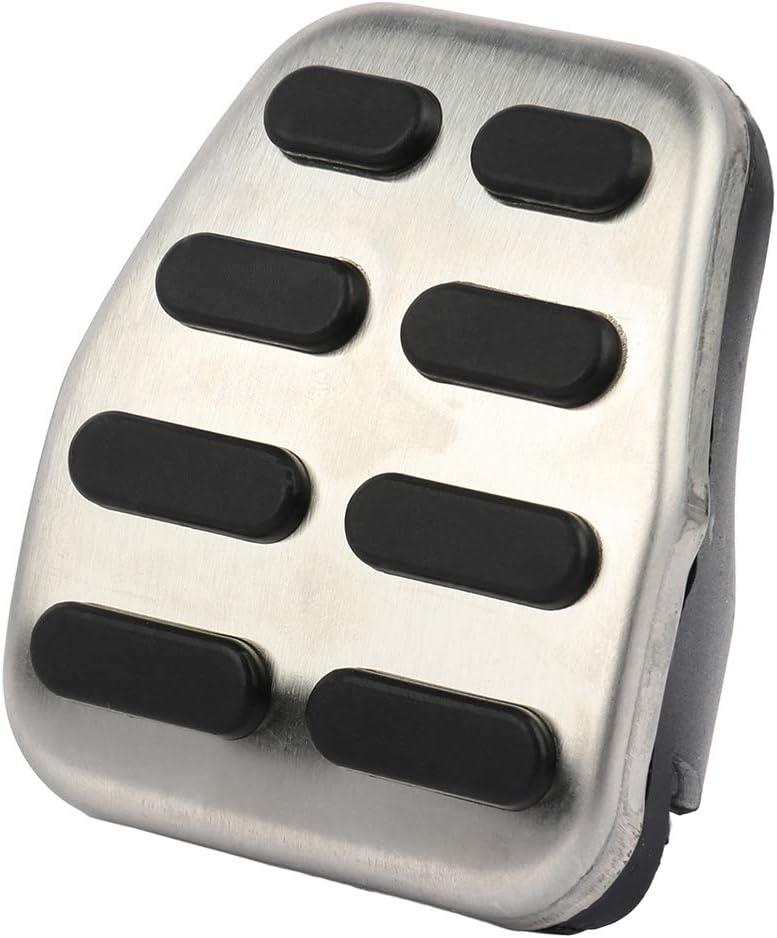 OCPTY Accelerator Gas Pedal Brake Pedal Cover Aluminum Alloy Foot Pedal Pads Kit fit for 2006-2013 Hyundai Elantra i30 KIA Optima K5