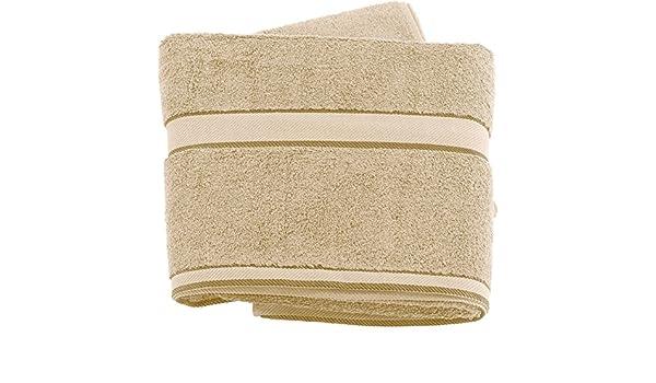 Wilson Gabor Premium toalla de baño, algodón-rizo, 180 x 90 cm, Beige: Amazon.es: Hogar
