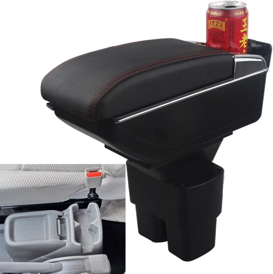 Leder Auto Mittelkonsole Armlehne Box Auto Innenteile Armlehnen Aufbewahrungsbox