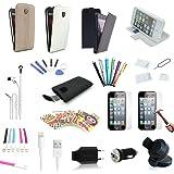 35 teiliges Apple iPhone SE Zubehör Set Paket | MEGAPACK