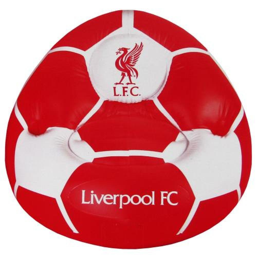 Liverpool FC Official Football Gift Inflatable Chair A Great Christmas Birthday Gift Idea For Men And Boys
