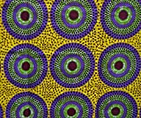African Print- Ankara Fabric Clothing Designs - Material For Fashion, Dress, Skirt, Shirt, Jewelry, Bags, Shoes -Styles With Patterns Of Prints . Mushroom -6 Yards..