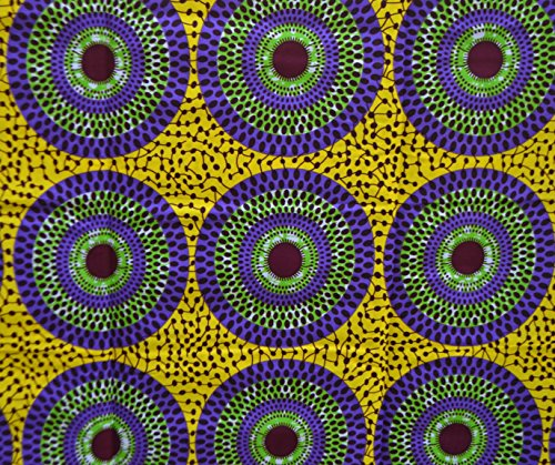 African Print- Ankara Fabric Clothing Designs - Material For Fashion, Dress, Skirt, Shirt, Jewelry, Bags, Shoes -Styles With Patterns Of Prints . Mushroom -6 Yards.. by My Ankara Design