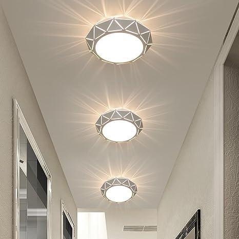LED Luz de techo Moderno Polígono Diseño Ras Monte ...