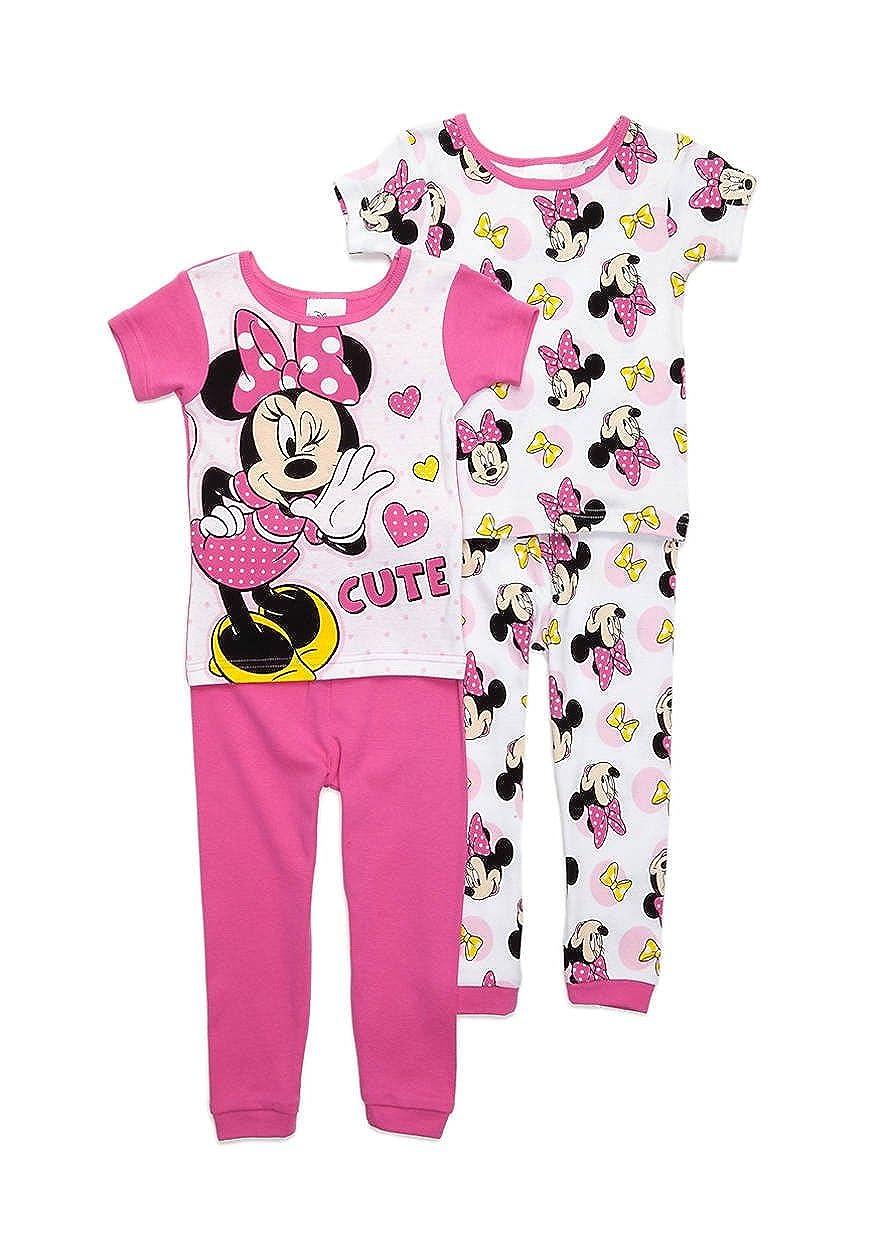77c9e478863b Amazon.com  Disney Minnie Toddler Girls  4 Piece Mix and Match ...