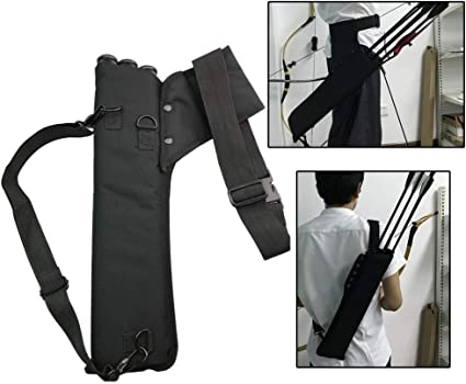 3 Tube Hip Quiver Hunting Archery Arrow Quiver Holder Bow Belt Waist hanged