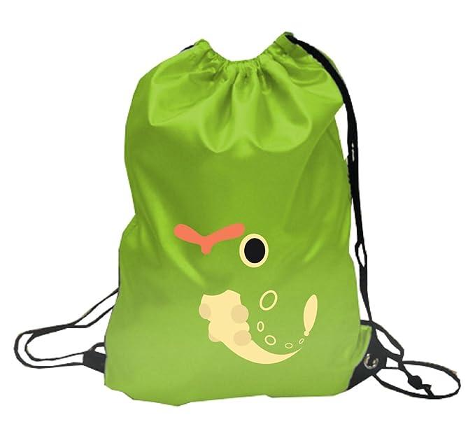 Pokemon Caterpie, cordón mochila mochila mochila escolar: Amazon.es: Ropa y accesorios