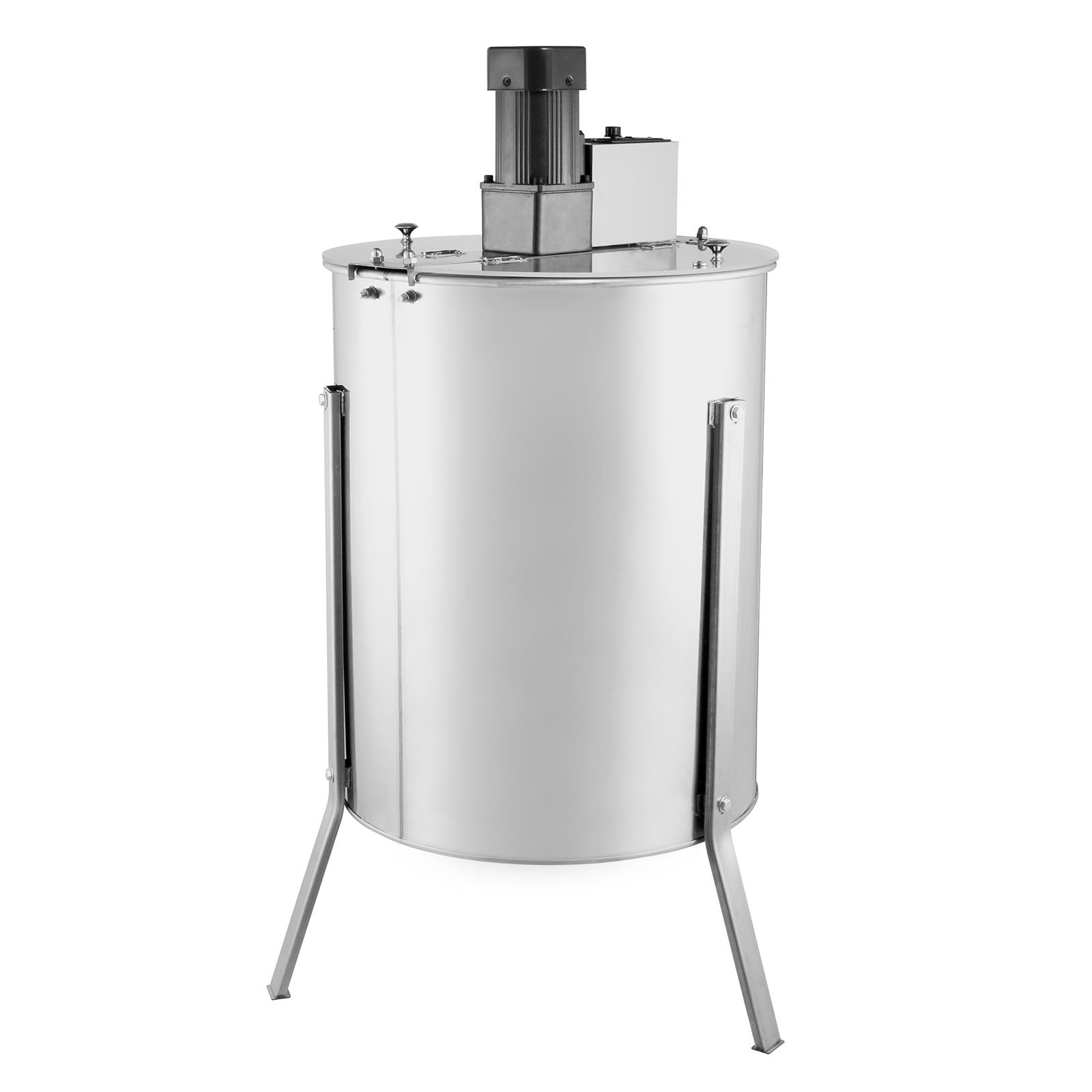 FoodKing Honey Extractor Electric Honey Extractor Honeycomb Spinner 4 Frame Stainless Steel Electric Beekeeping Supply Beehive Processing (4 Frame Electric Honey Extractor)