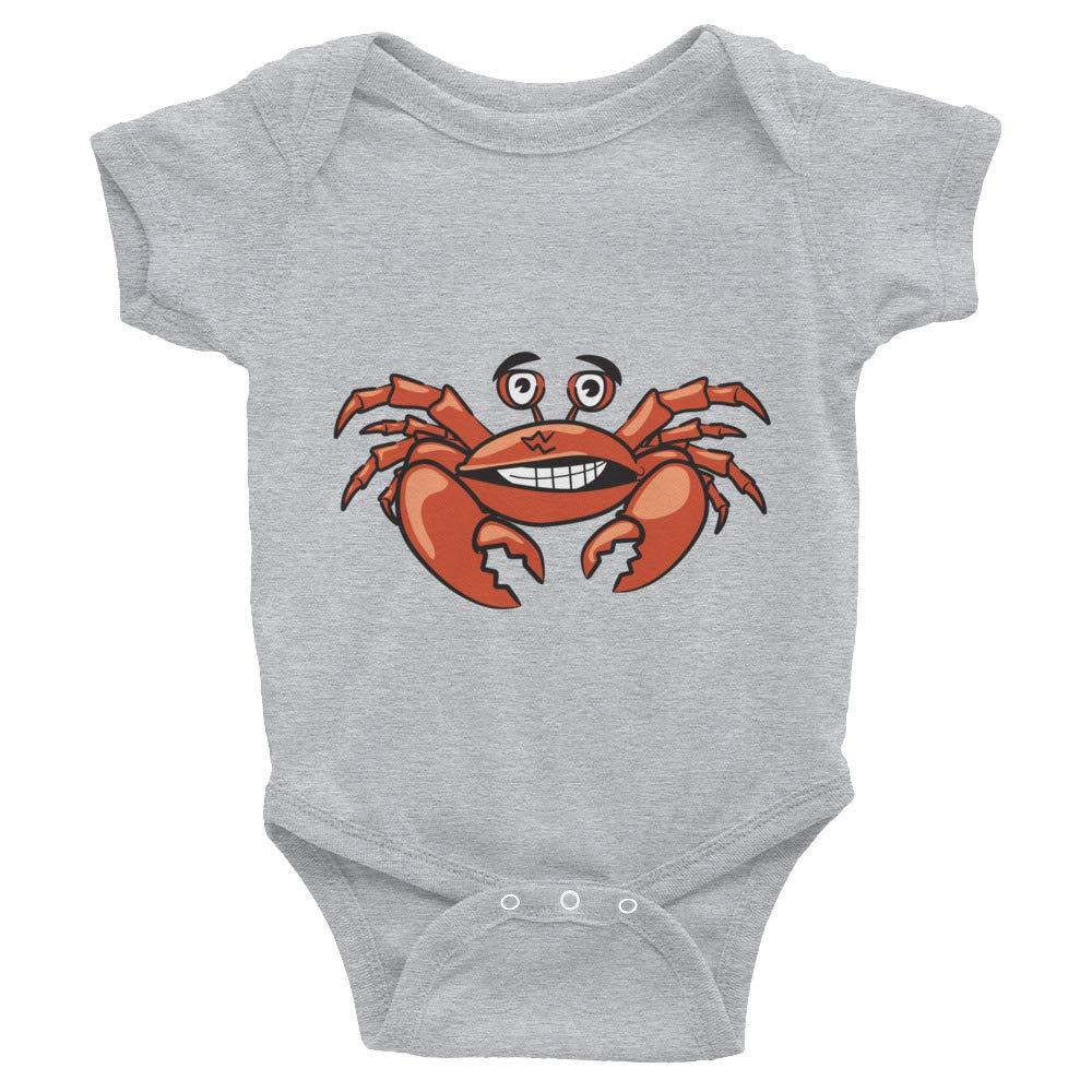 BCS+CO Smiling Crab Infant Bodysuit