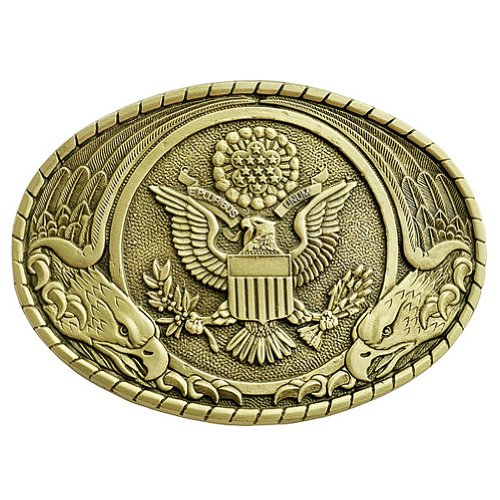US Seal Belt Buckle OBM129 IMC-Retail (Indiana Belt)