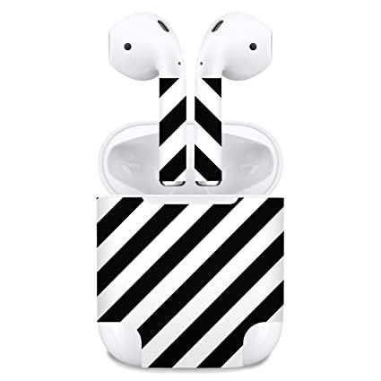 bb01591ec76 Image Unavailable. Image not available for. Color: Premium Vinyl Skin  Sticker Compatible with Apple Airpods ...