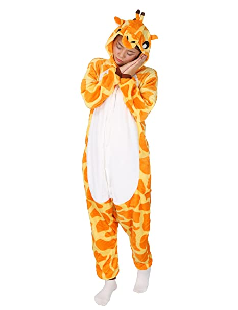 a576ec7fa3 Très Chic Mailanda Unisex da Adulto Costume Intera Pigiama Cosplay Animale  Pigiama Costume di Halloween(