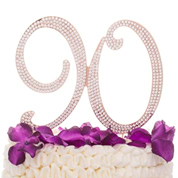 Amazon Ella Celebration 90 Cake Topper For 90th Birthday