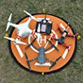 DZT1968 Waterproof Landing Pad Helipad Foldable for DJI Phantom 4 3 Mavic Pro Drone RC Quadcopter with Nylon handle