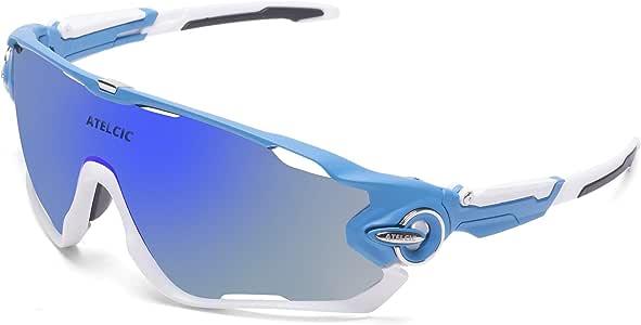 Gafas de Sol Deportivas para Ciclismo, Protección UV400 y Montura ...