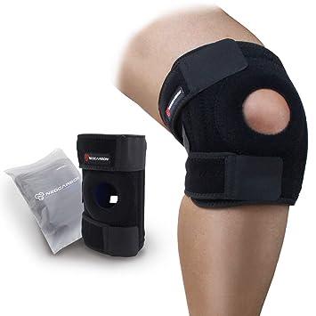 NeoCarbon Rodillera Ortopédica. Estabilizador Ajustable de Rodilla para Tendinitis, lesiones en la Rótula o Meniscos: Amazon.es: Deportes y aire libre