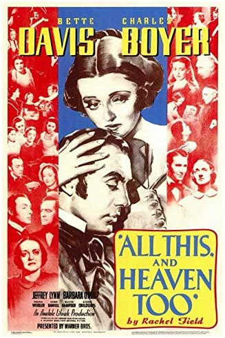 Amazon.com: All this and Heaven Too POSTER Movie (27 x 40 Inches - 69cm x  102cm) (1940): Posters & Prints