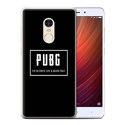 STUFF4 Phone Case / Cover For Xiaomi Redmi Note 4 / Ultimate Fight Design /  PUBG