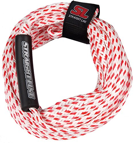 Straight Line Supreme 2 Person Tube Rope (Red) (Harness Force Liquid)