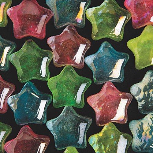 Tile Mosaic Diamond (Glass Glow-in-the-Dark Star Mosaic Tile, 1