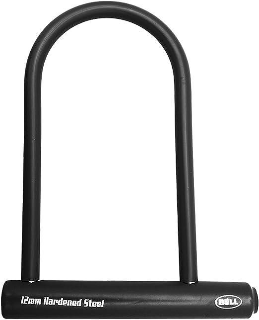 BELL Catalyst 300 Bicycle Bike U-Lock Black 12mm Hardened Steel