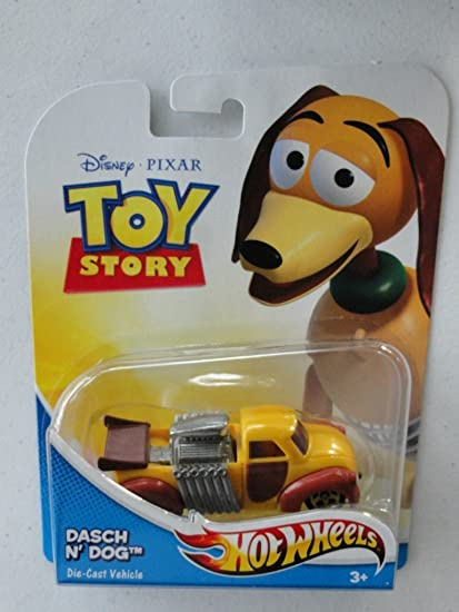 Amazon Com Disney Pixar Toy Story Dasch N Dog 1 64 Scale Hot