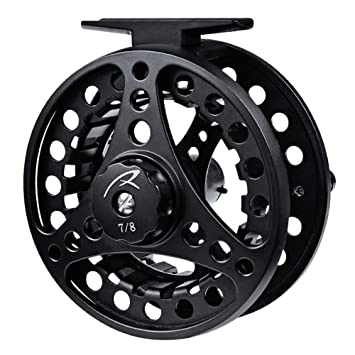 85mm 5//6 Aluminum Fly Fishing Reel Trout Fishing Left or Right Handed