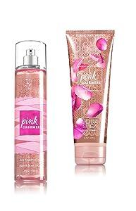 Bath Body Works Cream and Mist , Pink Cashmere