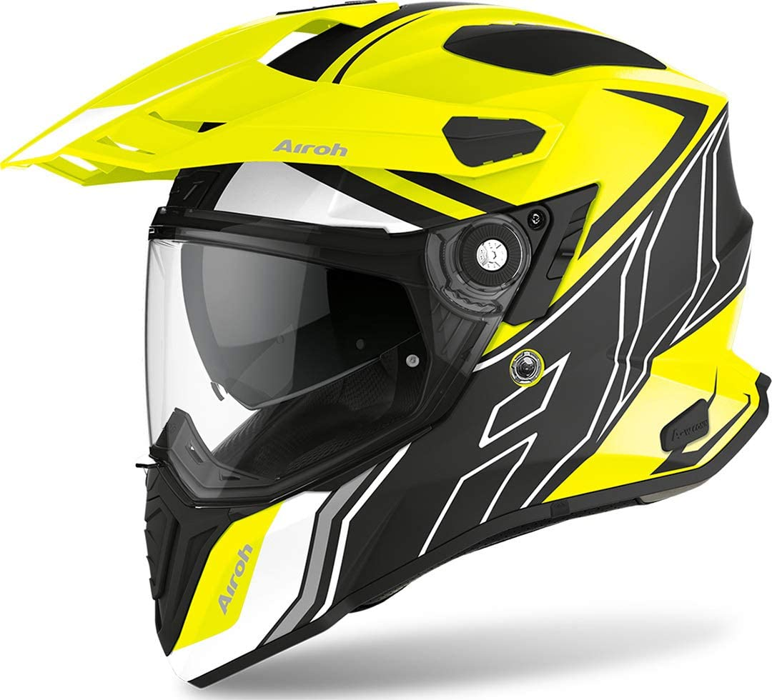 Airoh HELMET COMMANDER DUO YELLOW MATT L