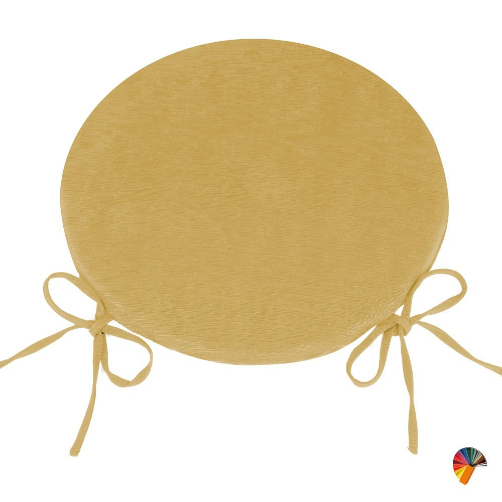 Arketicom (Set 4 Stück) Kissen Runde Küchenstühle abnehmbaren mit ...