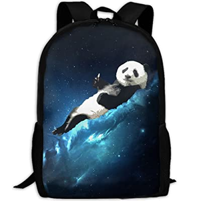 SZYYMM Panda Oxford Cloth Casual Unique Backpack, Adjustable Shoulder Strap Storage Bag,Travel/Outdoor Sports/Camping/School For Women And Men