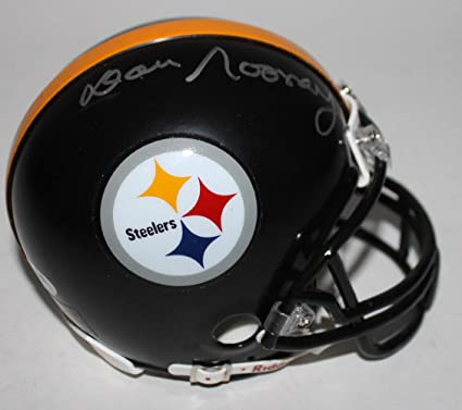 577e3615f Image Unavailable. Image not available for. Color: Dan Rooney Signed Mini  Helmet - #Z96955 - PSA/DNA Certified - Autographed NFL