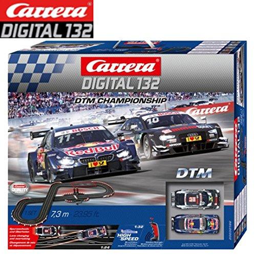 - Carrera DTM Championship Slot Car Racing Track Set