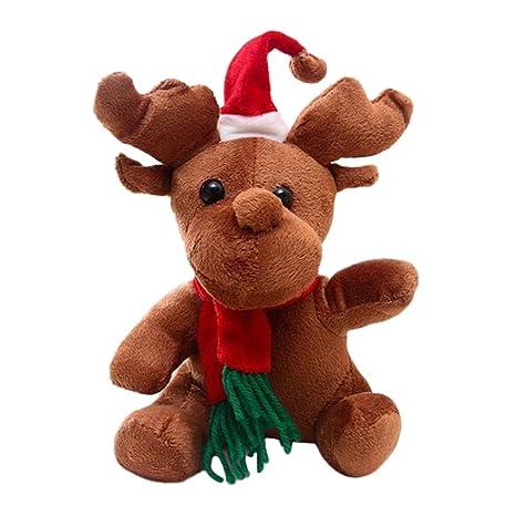 STOBOK Muñecos de Navidad muñecos de Peluche muñecos navideños muñecos de Navidad (16cm)