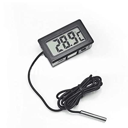 50~110C Refrigerator Thermometer Cars zer Temperature Digital LCD ...