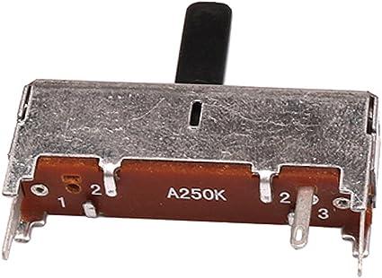 B250K Deslice Potes Alto Asta de Potenciometro Audio para Bass ...
