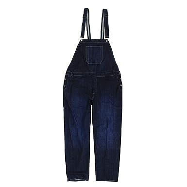 Abraxas Jeans-Latzhose in dunkelblau- Stonewash Übergrößen bis 12XL   Amazon.de  Bekleidung 604dde0813