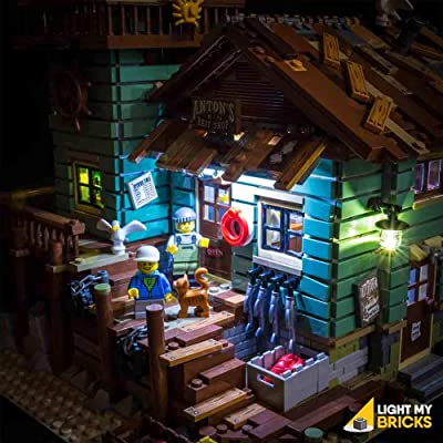 Light My Bricks Lighting KIT for Old-Fishing Store 21310 ( Building Set NOT Included): Toys & Games [5Bkhe1103247]