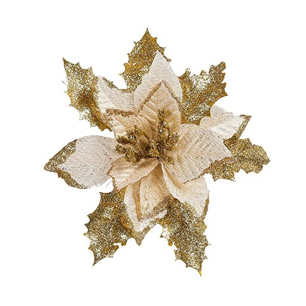Amaping-Christmas-Tree-Cedar-Hanging-Ornament-Artificial-Flower-Greenery-Silk-Maple-Glittering-Sequins-Crystal-Bouquet-Pendant-Home-Wedding-Decor