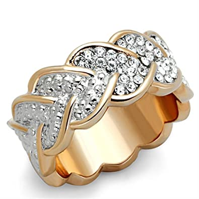 YourJewelleryBox 888 SIMULATED DIAMOND RING YELLOW GOLD STATEMENT CITRINE YELLOW RING COCKTAIL SIZE P USA 8 2PHZHEK5Jj
