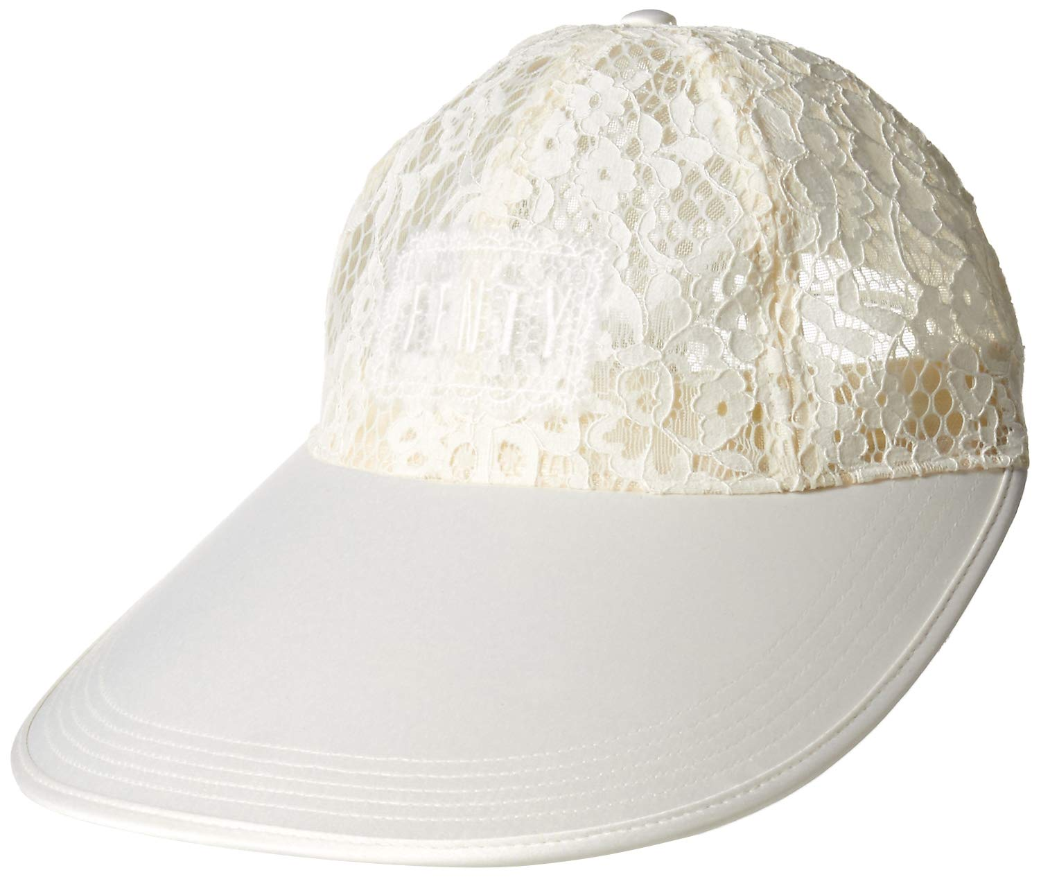PUMA Women's Fenty Oversized Visor Cap, Vanilla ice, Adult