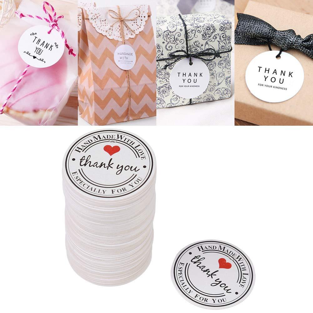 100 pz bianco fatto a mano appendere etichetta bomboniera regalo dessert tag abbigliamento gioielli prezzo da pagare 04
