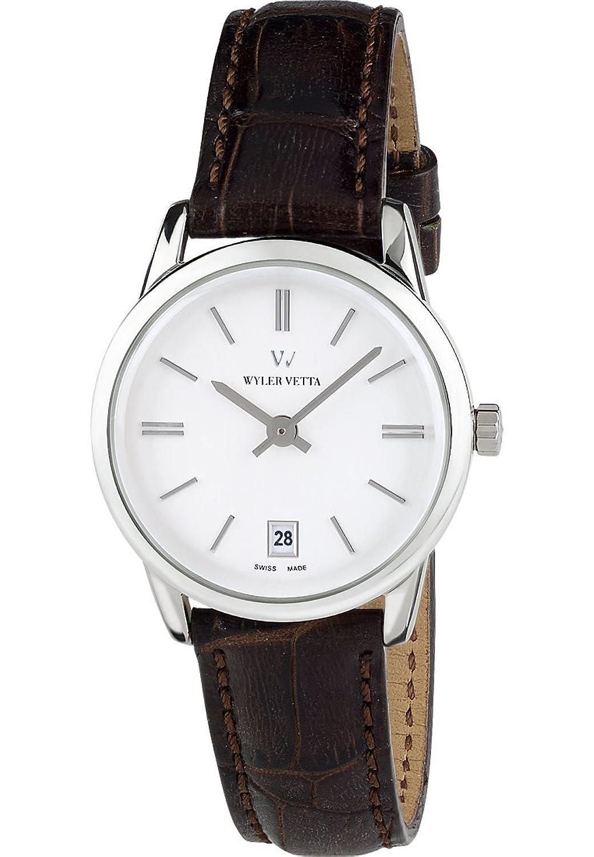 Wyler Vetta Damen-Armbanduhr Opera Analog Quarz One Size - weiß - schwarz