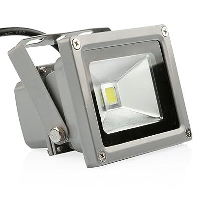 ledmo 10w led flood lights waterproof ip65 daylight white rh amazon com