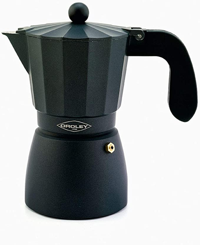 Oroley - Cafetera Italiana Touareg | Aluminio | 12 Tazas ...