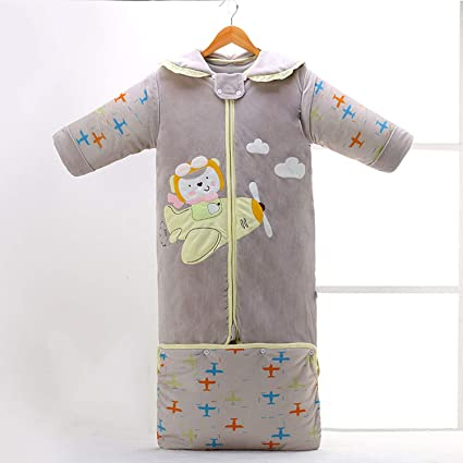 175fe0fd0 Child Growing Up Sleeping Bag Thicken Newborn Winter Cotton Anti Kick Quilt  Pajamas Clothes: Amazon.ca: Home & Kitchen