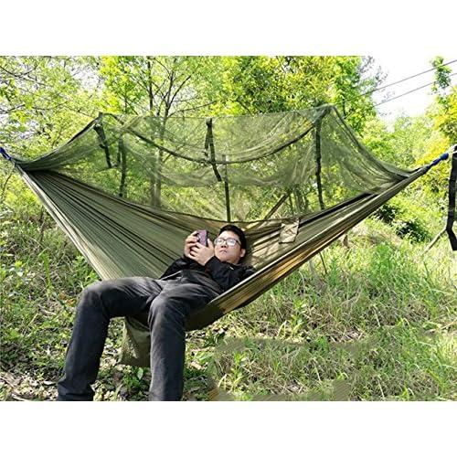 Outdoor Hamac de voyage avec moustiquaire Ultra Light 2.6 * 1.4 m ...