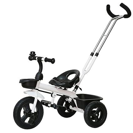 CGN- Bicicleta para niños, carrito de bebé para bebés Triciclo para niños Car Bicycle