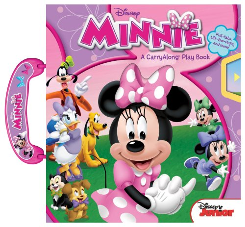 Disney Minnie: A CarryAlong Play Book